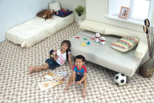 Виды покрытия на пол в детскую комнату – мягкие полы