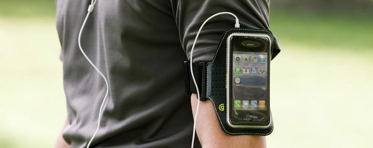 Эластичный Чехол-повязка для плеера или смартфона Griffin Trainer Sport Armband