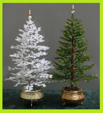 Альтернативная елка на Новый год своими руками из бисера
