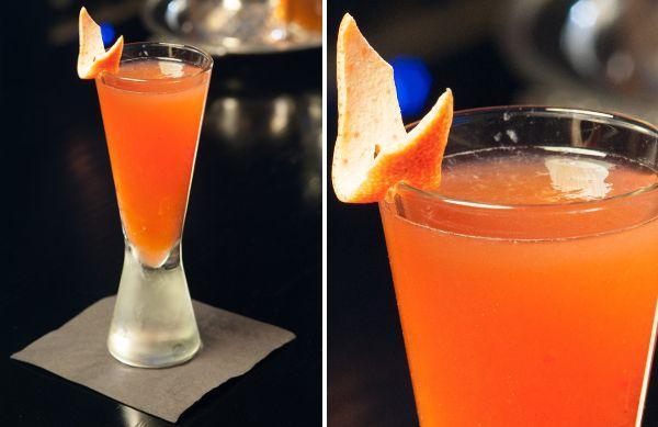 Новогодние коктейли 2014 - Оранжевый рай