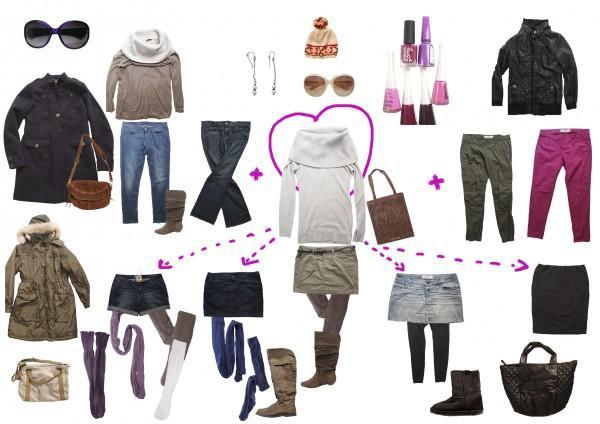 Базовый гардероб на зиму 2013-2014