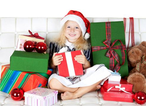 Детские подарки к новому 73
