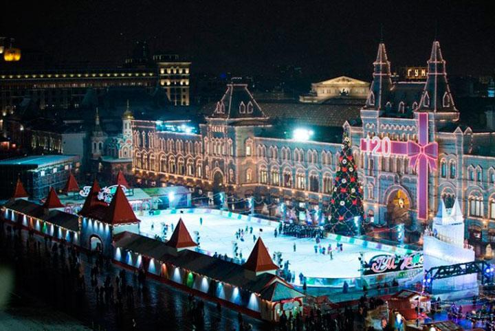 Мероприятия в новогоднюю ночь 2017 в Москве