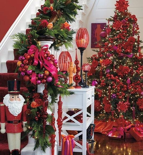 Как украсить елку на Новый 2017 год Петуха