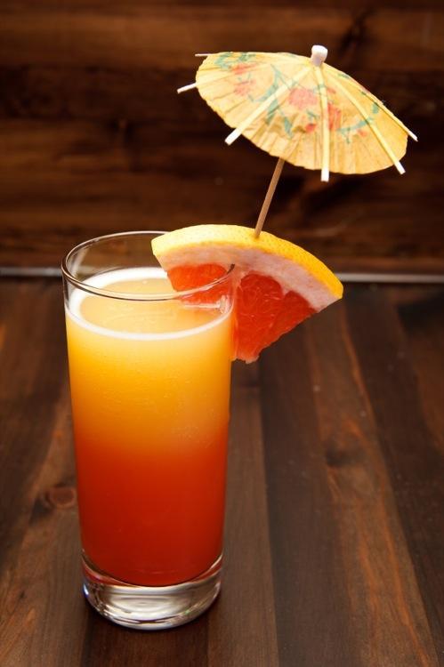 Новогодние коктейли 2014 - Оранжевое солнце