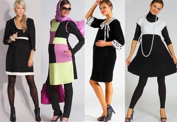 Новогодние платья, макияж, прически для беременных - что выбрать будущей маме?