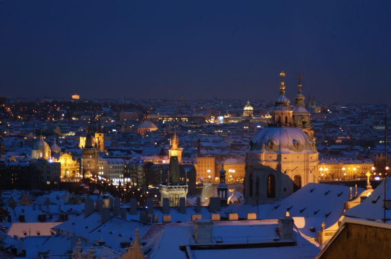 Недорогой отдых зимой 2013-2014 за границей, в Праге