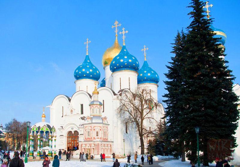 Зимние каникулы 2014 с детьми по Золотому кольцу России