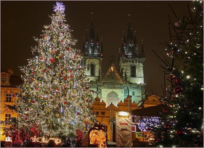 Зимние каникулы 2014 с детьми в Праге