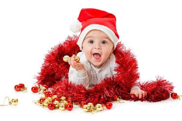 Первый Новый год малыша