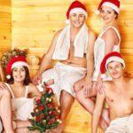 Новый год в сауне или бане, или с новогодним легким паром!