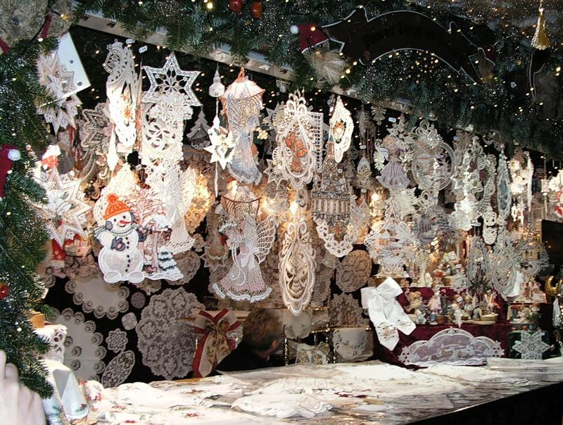 Рождественская ярмарка в Дрездене