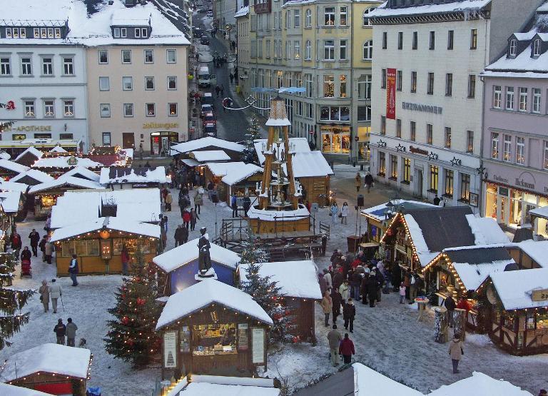 Рождественская ярмарка в Зайфен