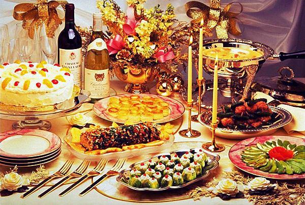 Рецепты к столу на новый год
