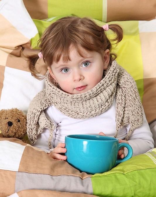 Питание ребенка при ОРВИ