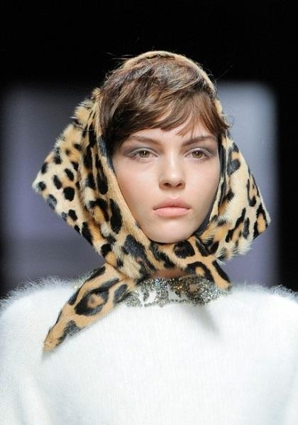Самые модные женские головные уборы зимой 2014