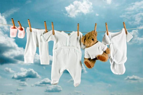 Детям – специальные средства для стирки вещей