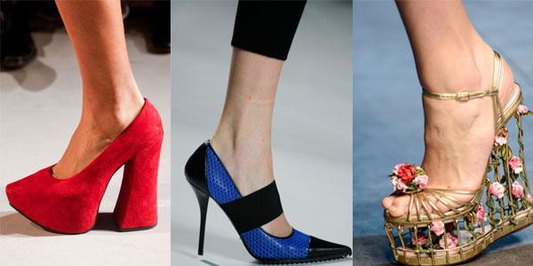 Модная обувь сезона весна-лето 2014 для женщин