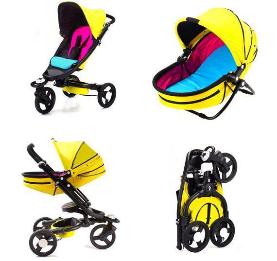Модная коляска для 2014 новорожденных Bloom Zen