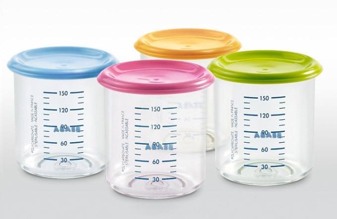 Набор для кормления новорожденного - контейнеры для питания