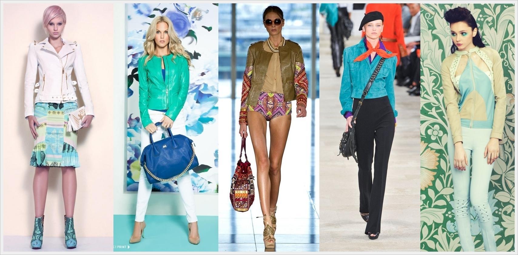 Какой цвет в моде в 2018 году летом фото