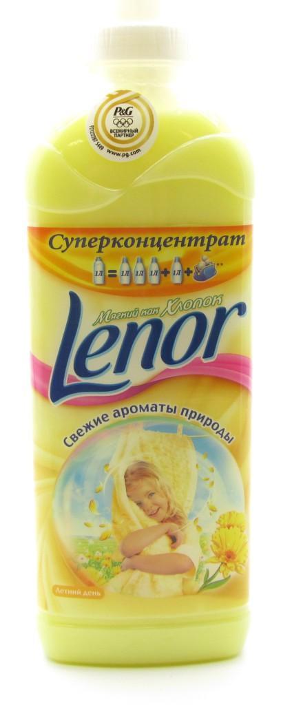 Лучшие детские кондиционеры-ополаскиватели для белья - Lenor