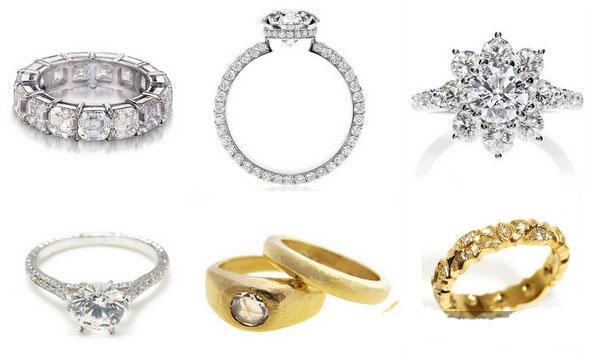 Модные обручальные кольца 2014 года