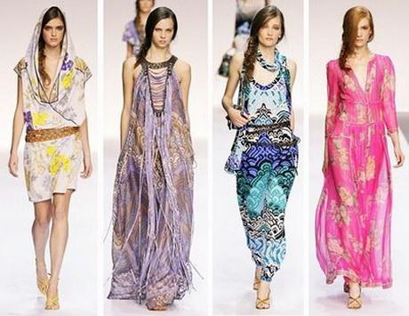Бохо стиль в одежде для женщин