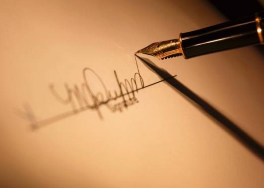 Как придумать красивую подпись на паспорт и документы