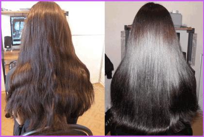 Чем делают ламинирование волос в салоне