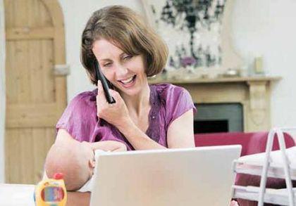 Как заработать деньги беременной женщине дома