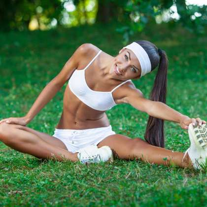 упражнения на растяжку на шпагат в картинках