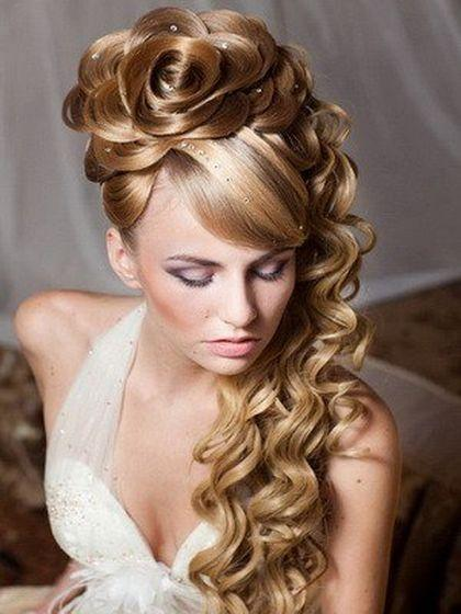 Красивые прически на средние волосы - 3077