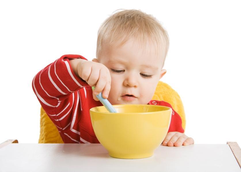 Завтрак для детей от года до трех