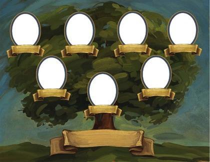 Родословное древо семьи своими руками - У меня растут года 60