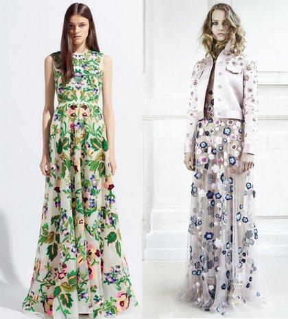 Модные летние платья и сарафаны 2014 для
