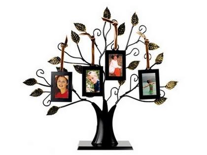 Рамка для фотографий в виде семейного дерева