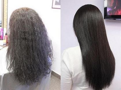 Волосы горячие наращивание волос