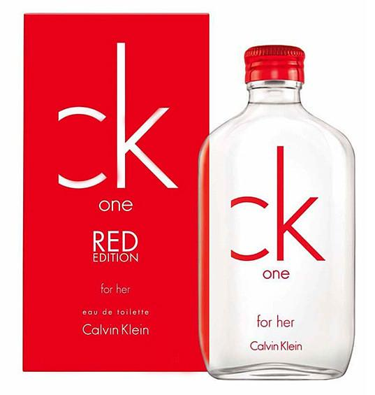 One Red Edition от Calvin Klein