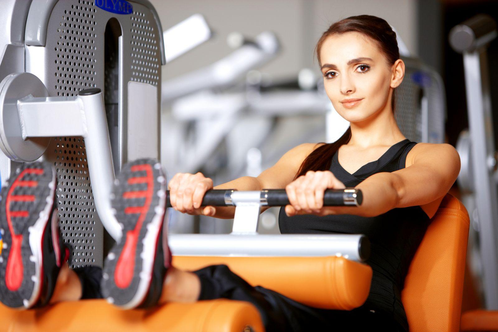 Как заниматься на тренажерах в спортзале