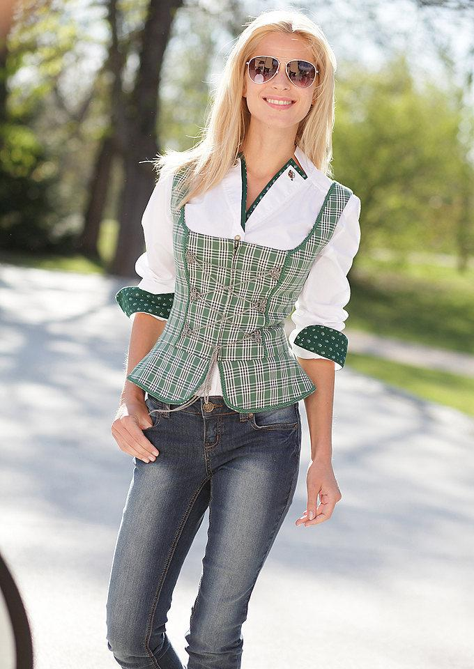 Корсет с блузкой