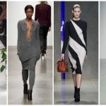 Стильный трикотаж осени – 5 модных тенденций трикотажных платьев на осень-зиму 2014-2015