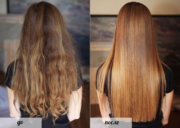 Процедура для утолщения волос