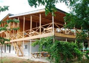 Лучшие отели в Абхазии - Гостиница Арго, мыс Бамбора, Гудаута