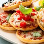Детский рецепт мини-пицц