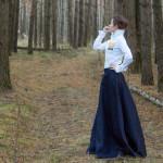 Как и с чем носить длинные платья и юбки – все секреты юбок в пол
