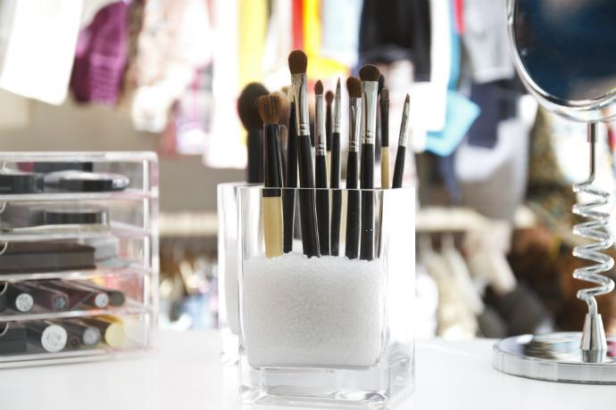 Как мыть кисти для макияжа