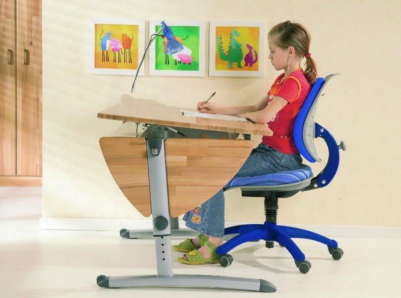 стул для письменного стола школьника