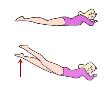 Упражнение 12 для укрепления мышц спины
