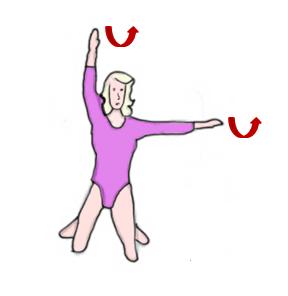 Упражнение 2 для укрепления мышц спины